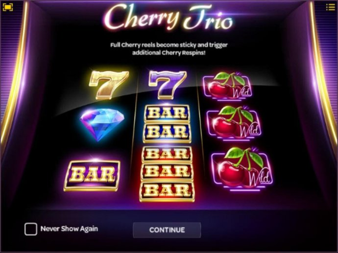 No Deposit Casino Guide - Full cherry reels become sticky and trigger additional cherry respins!