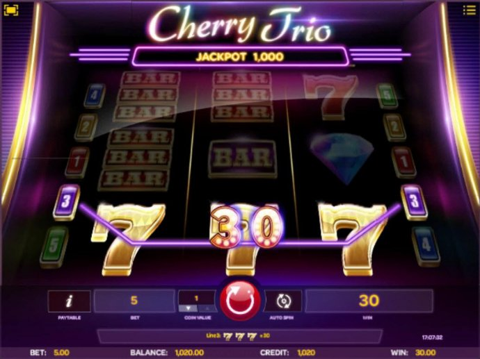 No Deposit Casino Guide - A winning Three of a Kind triggers a 30 payout.
