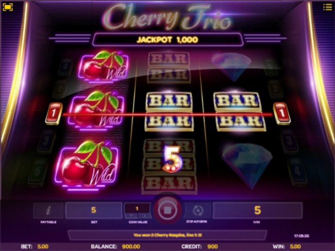 Cherry Trio screenshot