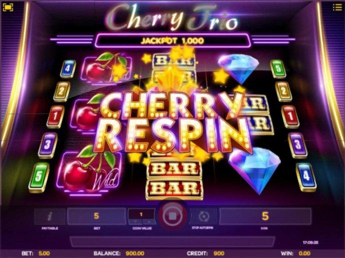 No Deposit Casino Guide image of Cherry Trio
