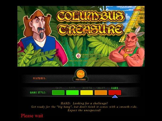 No Deposit Casino Guide image of Columbus Treasure