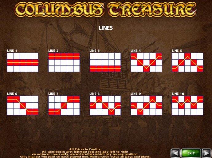 Images of Columbus Treasure