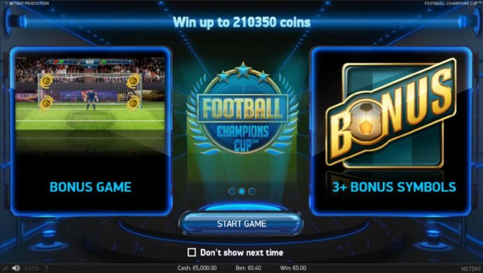Football Champions Cup by No Deposit Casino Guide