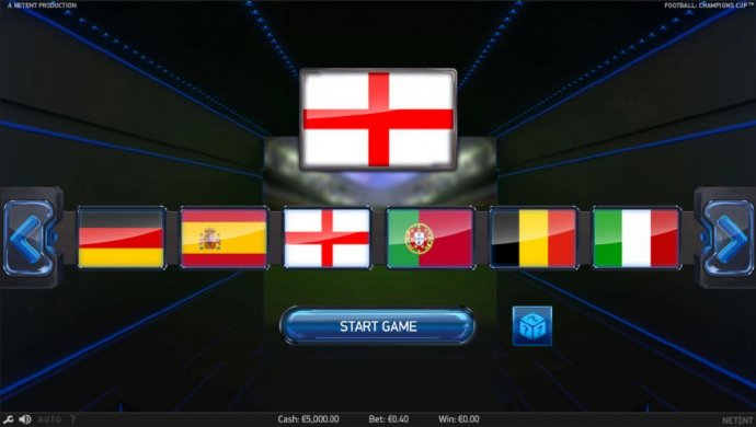 No Deposit Casino Guide - Select a country flag to represent during your game play.