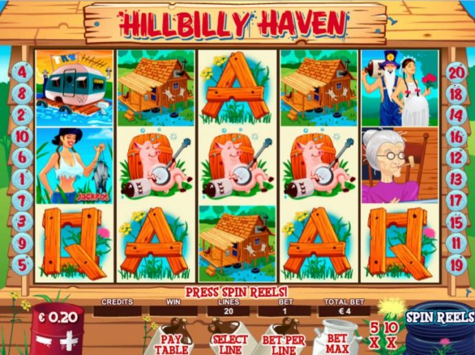 Hillbilly Haven by No Deposit Casino Guide