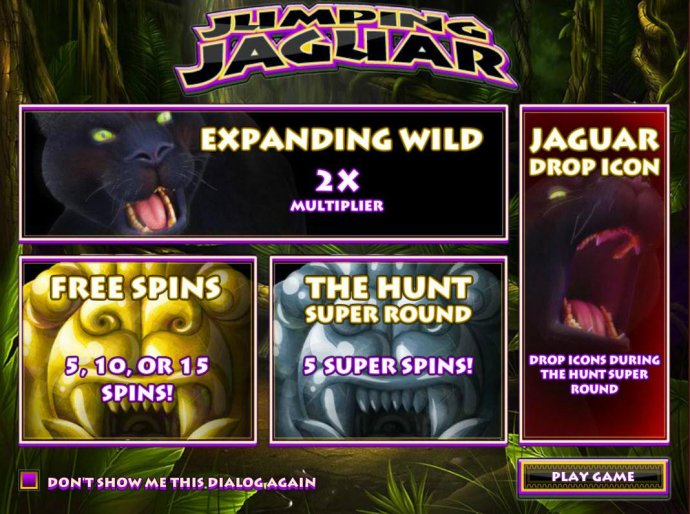 No Deposit Casino Guide image of Jumping Jaguar