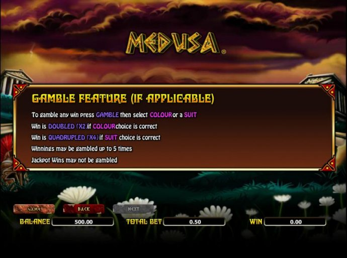 No Deposit Casino Guide image of Medusa