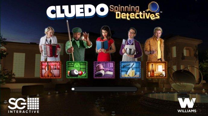 No Deposit Casino Guide - Splash screen - game loading