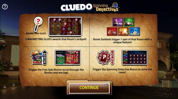 Cluedo Spinning Detectives screenshot