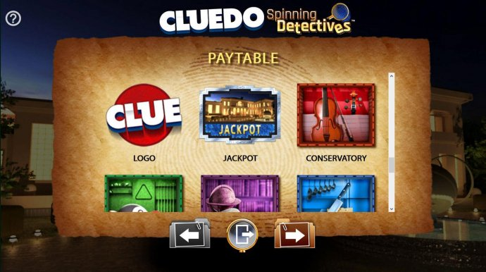 Cluedo Spinning Detectives by No Deposit Casino Guide