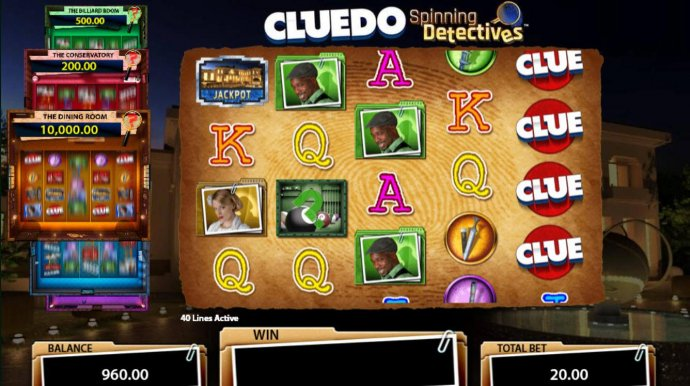 Images of Cluedo Spinning Detectives