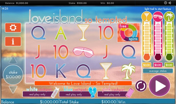 Love Island So Tempted by No Deposit Casino Guide