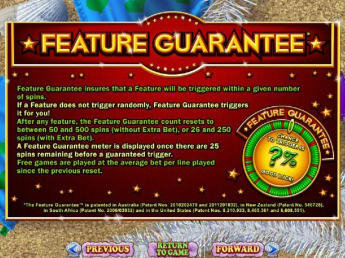 Feature Guarantee rules - No Deposit Casino Guide