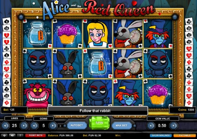 Alice and the Red Queen by No Deposit Casino Guide