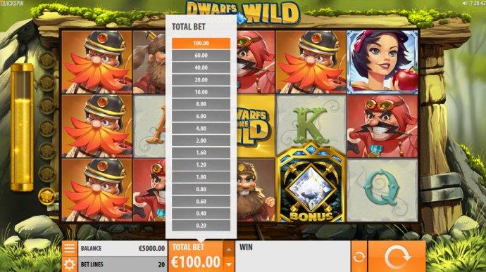 Betting Options - No Deposit Casino Guide