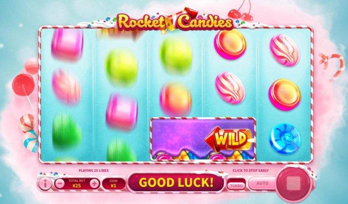 No Deposit Casino Guide image of Rocket Candies