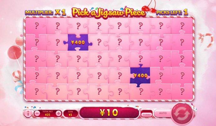 Candy Bonus Game Board by No Deposit Casino Guide
