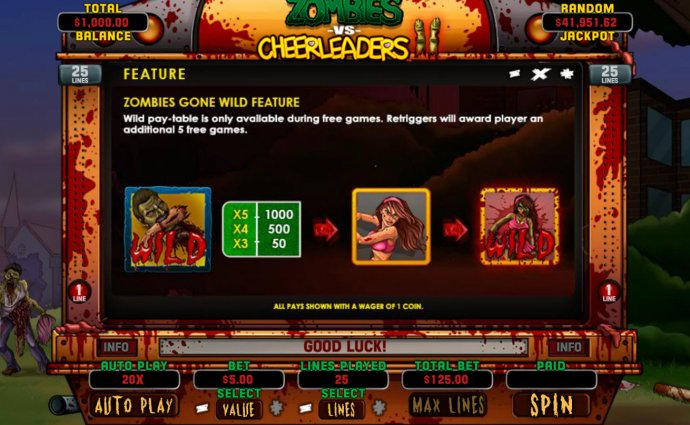 No Deposit Casino Guide - Wild feature rules