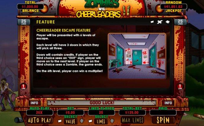 No Deposit Casino Guide image of Zombies vs Cheerleaders II
