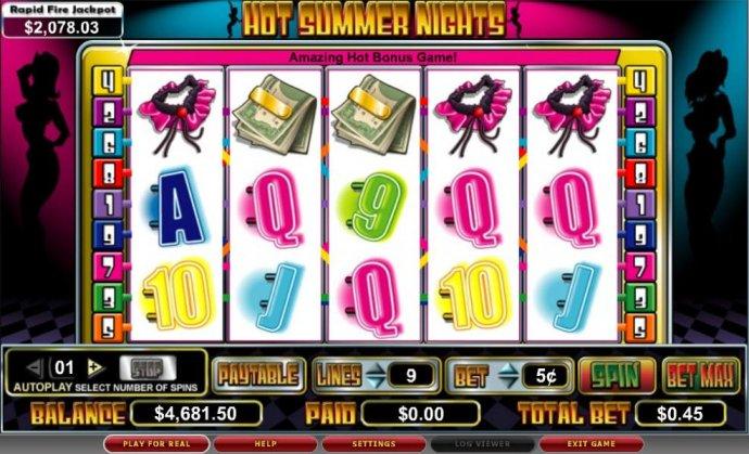 Hot Summer Nights by No Deposit Casino Guide
