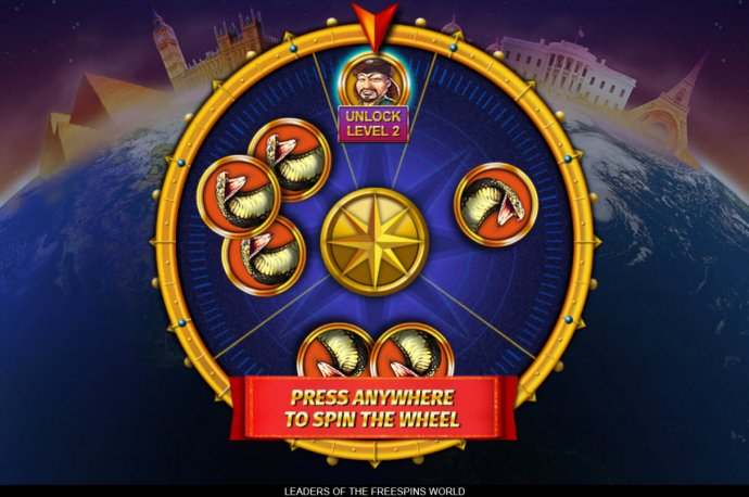 Images of Leaders of the Free Spins World