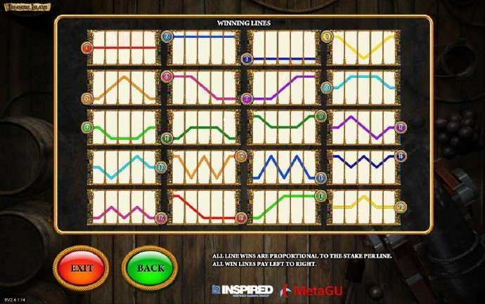 Treasure Island screenshot