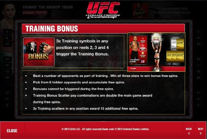 No Deposit Casino Guide image of Ultimate Fighting Championship