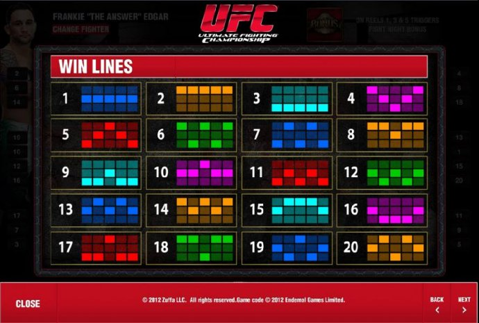 Images of Ultimate Fighting Championship
