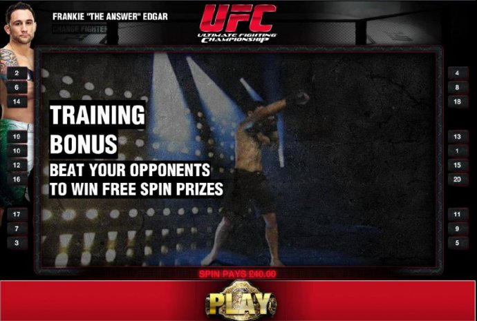 Ultimate Fighting Championship screenshot
