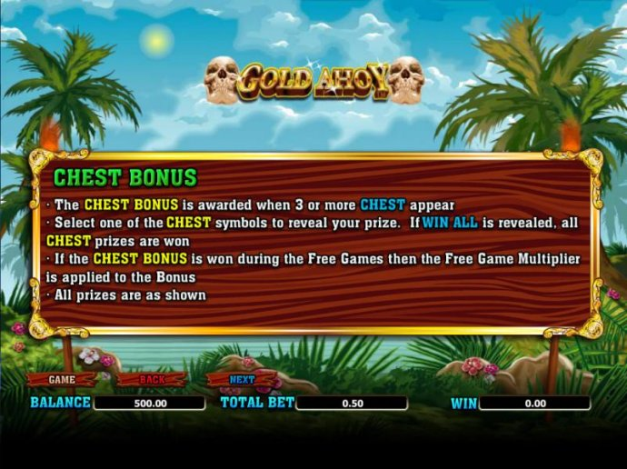 No Deposit Casino Guide - chest bonus rules