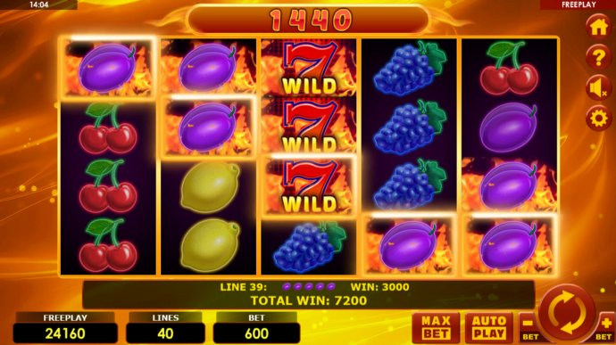 Hottest Fruits 40 by No Deposit Casino Guide