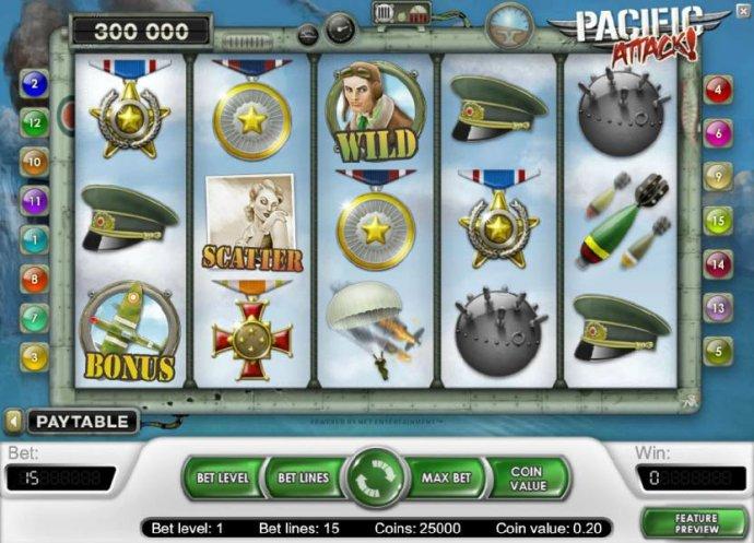 No Deposit Casino Guide image of Pacific Attack