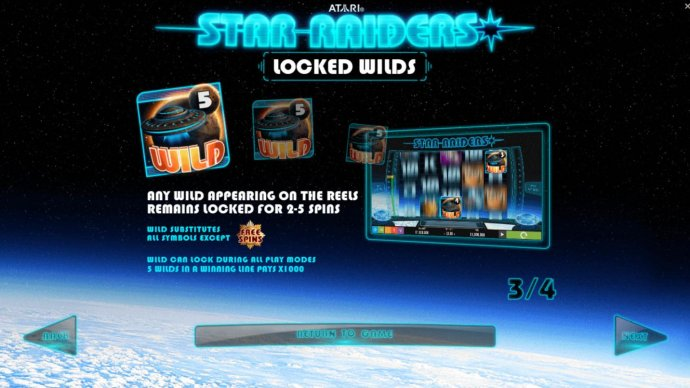Star Raiders by No Deposit Casino Guide
