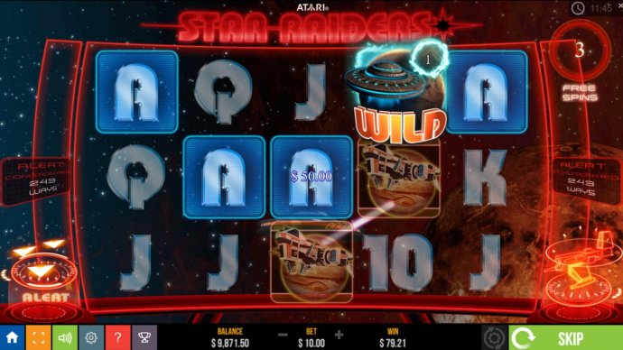 No Deposit Casino Guide image of Star Raiders