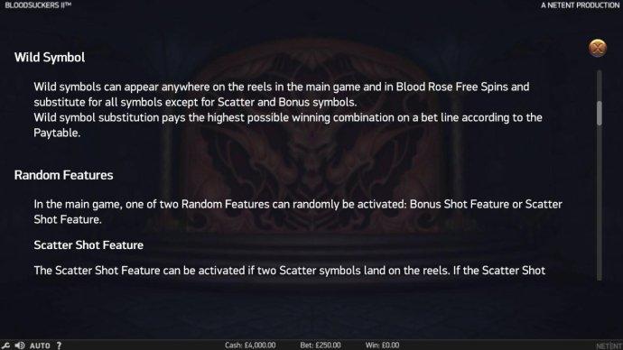 Blood Suckers II by No Deposit Casino Guide