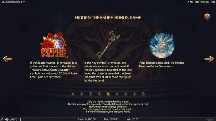 Hidden Treasure Bonus Rules by No Deposit Casino Guide