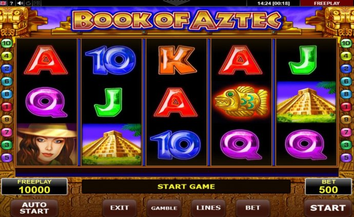 Book of Aztec by No Deposit Casino Guide