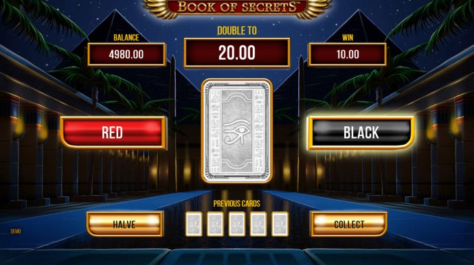 No Deposit Casino Guide - Gamble Feature Game Board