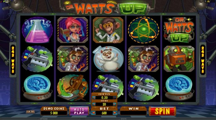 Dr Watts Up by No Deposit Casino Guide