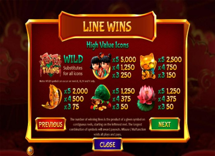No Deposit Casino Guide image of Fa Fa Twins