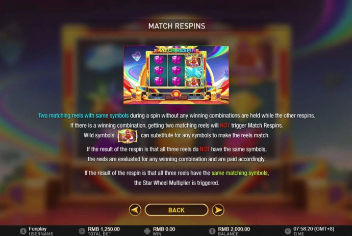 Match Respins by No Deposit Casino Guide