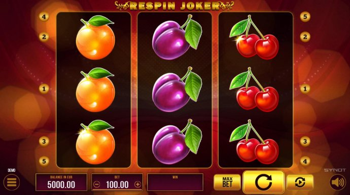 No Deposit Casino Guide image of Respin Joker