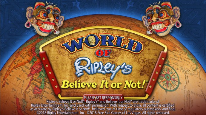 No Deposit Casino Guide image of World of Ripley's Believe It or Not
