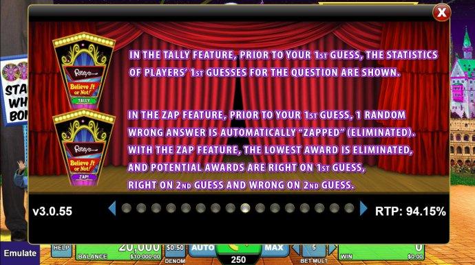 World of Ripley's Believe It or Not screenshot
