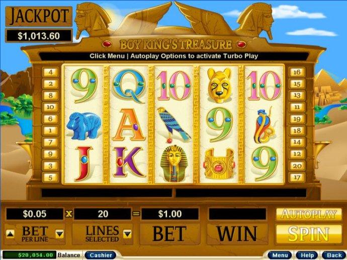 No Deposit Casino Guide image of Boy King's Treasure