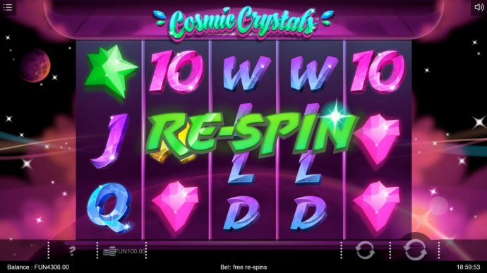 A re-spin is triggered for every non-winning spin of the reels. The re-spins will continue until the first winning combination appears. - No Deposit Casino Guide