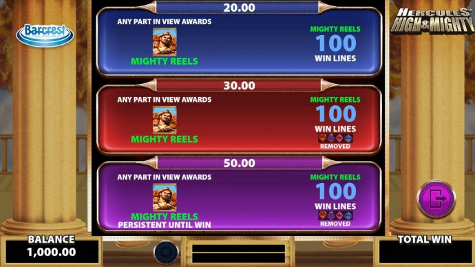 Big Bet Games and Options Selection - No Deposit Casino Guide