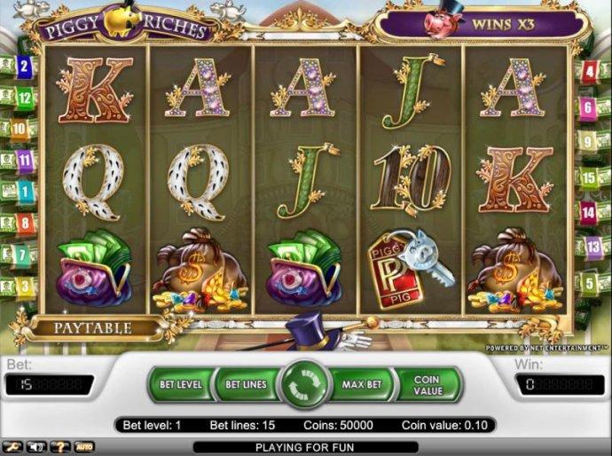 main playing board by No Deposit Casino Guide