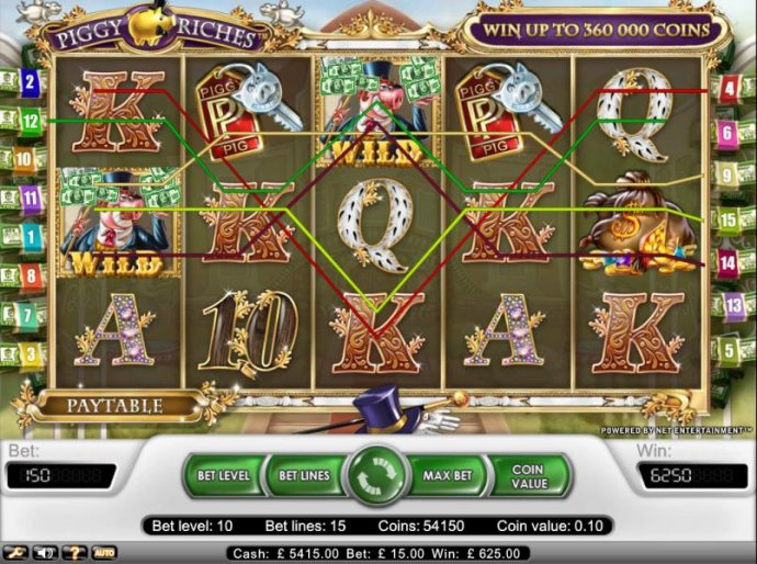Piggy Riches by No Deposit Casino Guide