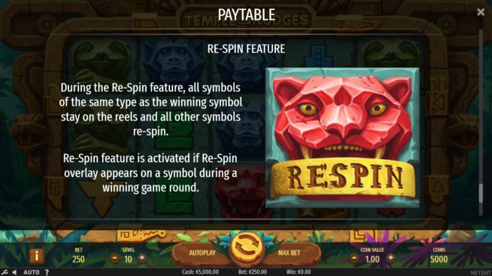Respin Tules by No Deposit Casino Guide
